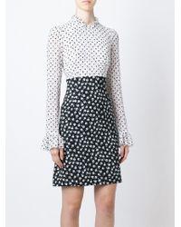 Dolce & Gabbana Mix Floral Print Dress floral - Lyst