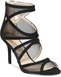 Nine West Gezzica Mid-heel Sandals - Lyst