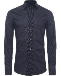 PS by Paul Smith Polka Dot Shirt - Lyst