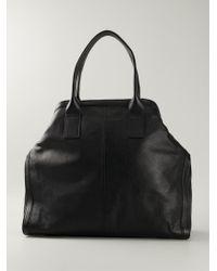 Alexander McQueen De Manta Leather Tote - Lyst