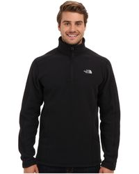 The North Face Zip Sweater - Lyst