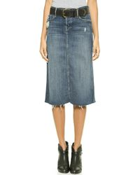 Mother Easy A Skirt - Alley Cat - Lyst