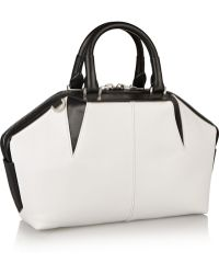 Alexander Wang Emile Doctor Two-Tone Leather Tote - Lyst