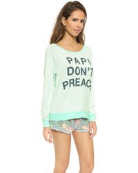 Sol Angeles - Papi Don't Preach Pullover - Fresca - Lyst