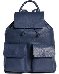 Brooks Brothers - Leather Backpack - Lyst