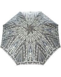 Etro - Floral Print Umbrella - Lyst