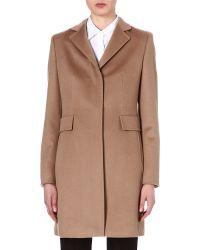 Max Mara Studio Ninetta Wool Coat - For Women beige - Lyst