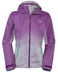 The North Face 'Fuseform Dot Matrix' Hooded Waterproof Jacket - Lyst