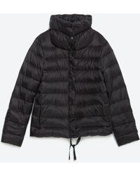 Zara | Extralight Quilted Coat | Lyst