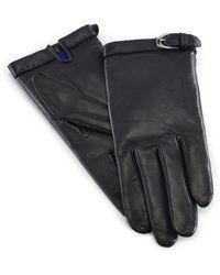 Ralph Lauren Equestrian Nappa Gloves - Lyst