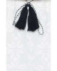 Talitha - Geometric Embroidered Ria Dress - Lyst