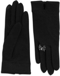 Portolano Wool and Cashmere Gloves - Lyst