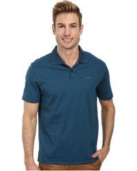 Calvin Klein Short Sleeve Knit Shirt Strip - Lyst