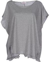 Jucca T-Shirt gray - Lyst