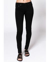 Rag & Bone The Legging Jean black - Lyst