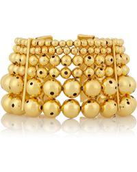 Paula Mendoza Toledo Gold-plated Cuff - Lyst
