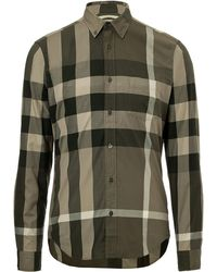 Burberry Brit Cotton Plaid Fred Shirt - Lyst