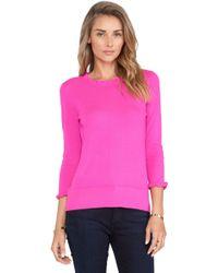 Kate Spade Purple Bekki Sweater - Lyst