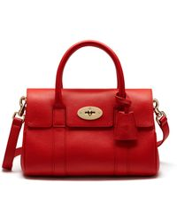 Mulberry | Small Bayswater Satchel | Lyst