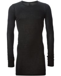 DRKSHDW by Rick Owens Long T-Shirt - Lyst