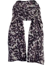 Gladys & Pixie Gladys and Pixie Large Leopard Scarf - Lyst