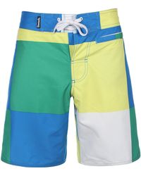 Bench - Doug Colorblock Swim Trunks - Lyst