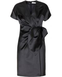 Balenciaga Satin Dress - Lyst