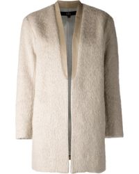 Tibi Long Cardigan - Lyst