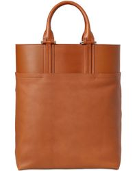 Bonastre - Vegetable Tanned Leather Shopping Bag - Lyst