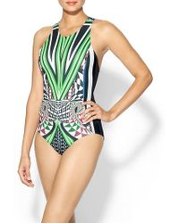 Clover Canyon Robot Flamingo One Piece - Lyst