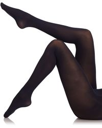 Fogal Velour Opaque Tights - Lyst