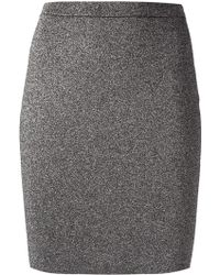 Alexander Wang Fitted Skirt - Lyst
