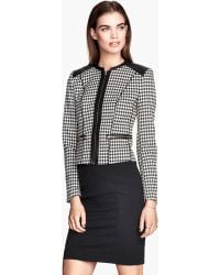 H&M Tailored Jacket - Lyst
