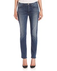 Mcguire - Valleta Medium Wash Straight-leg Jeans - Lyst