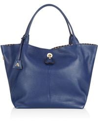 Aquascutum - Kitty Leather Slouch Bag - Lyst