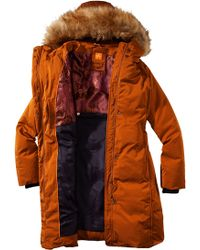 BOSS Orange - Down Jacket 'Odoro5' With A Detachable Hood - Lyst