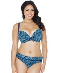 Curvy Kate - Wanderlust Plunge Bikini Top - Lyst