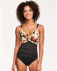 Fantasie - Ko Phi Phi Underwired Twist Front Smoothing Swimsuit - Lyst