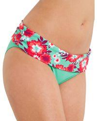 Curvy Kate - Aloha Fold Over Brief - Lyst