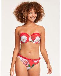 Ted Baker - Iguazu Floral Moulded Bikini Top - Lyst