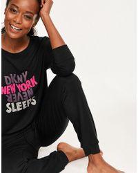 DKNY - Make An Impact L/s Top & Pant Set - Lyst
