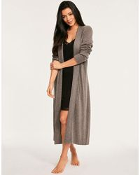 Figleaves - Bliss Cashmere Robe - Lyst