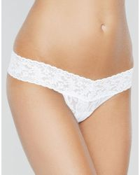 Hanky Panky - Signature Low Rise Thong - Lyst