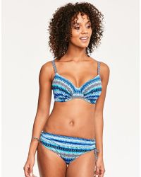 Fantasie - La Manga Underwired Gathered Full Cup Bikini Top - Lyst
