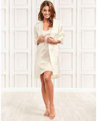 Julianne - Coco Silk Robe - Lyst