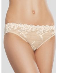 Wacoal - Embrace Lace Bikini Brief - Lyst