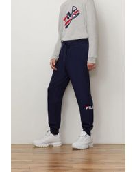 c9092ffbb0 Lyst - Fila Manolito Slim Leg Pant in Black for Men
