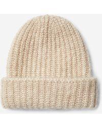 Filippa K - Mohair Hat Porcelain - Lyst