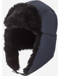 Filippa K - Trapper Hat Dark Navy/blue - Lyst