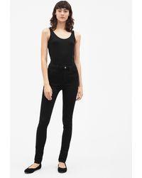 Filippa K - Lola Super Stretch Jeans Black - Lyst